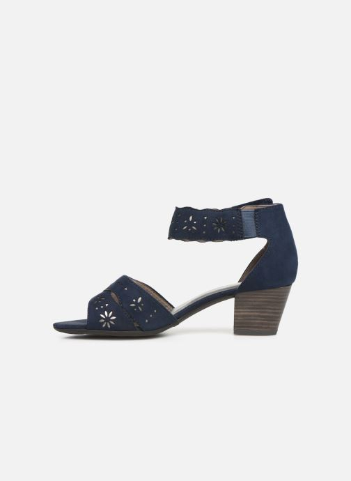 Sandales et nu-pieds Jana shoes Naomi Bleu vue face