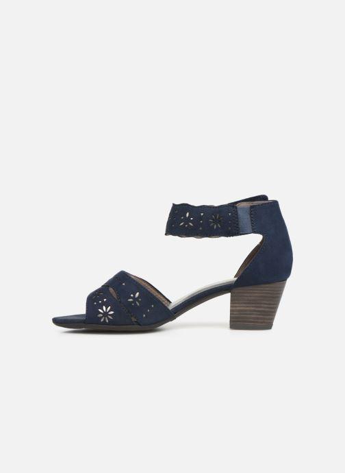 Sandals Jana shoes Naomi Blue front view