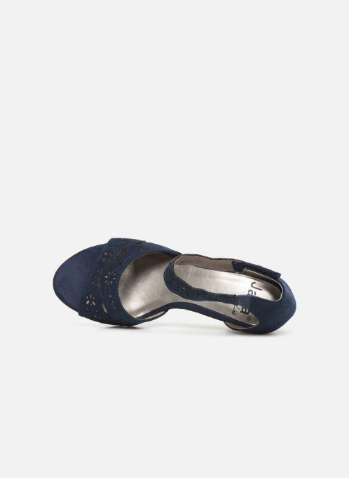 Sandales et nu-pieds Jana shoes Naomi Bleu vue gauche