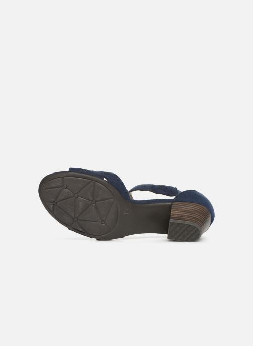Sandals Jana shoes Naomi Blue view from above