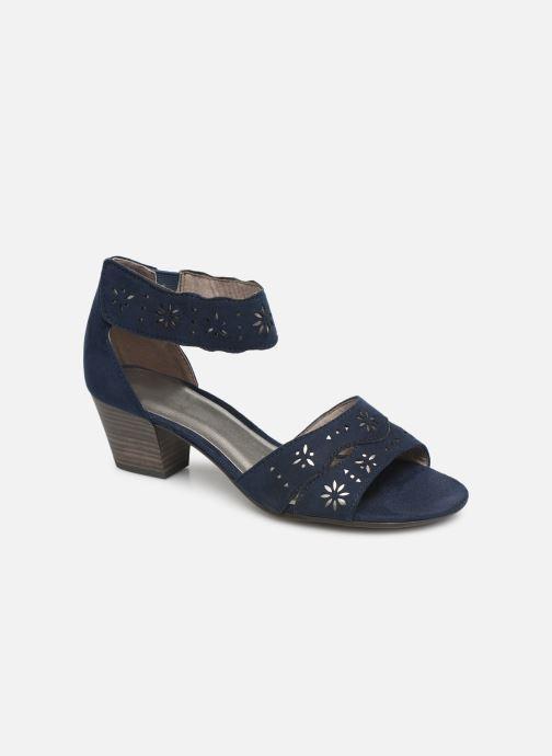 Sandals Jana shoes Naomi Blue detailed view/ Pair view