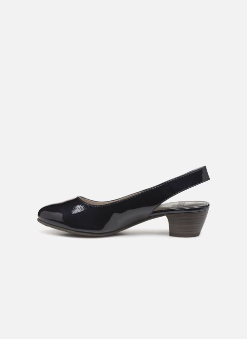 Escarpins Jana shoes Isaure Bleu vue face