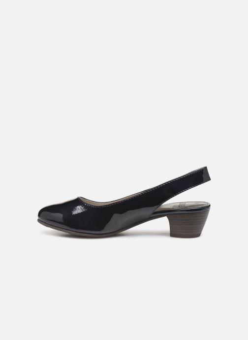 Zapatos de tacón Jana shoes Isaure Azul vista de frente