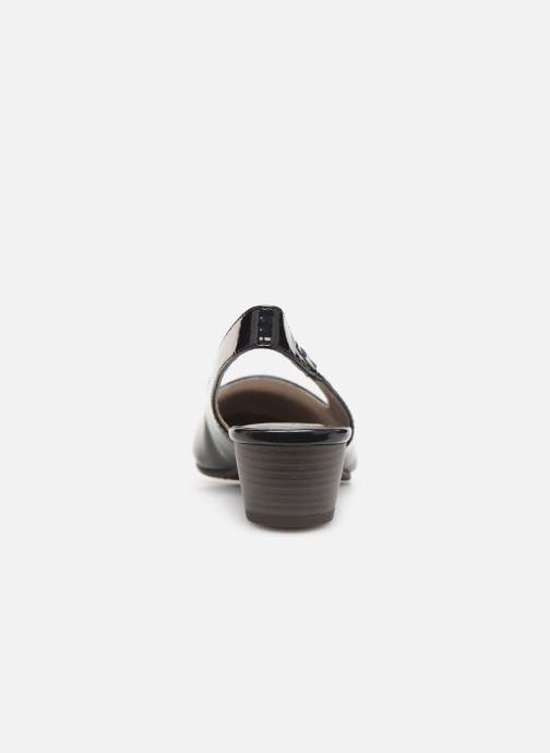 Zapatos de tacón Jana shoes Isaure Azul vista lateral derecha