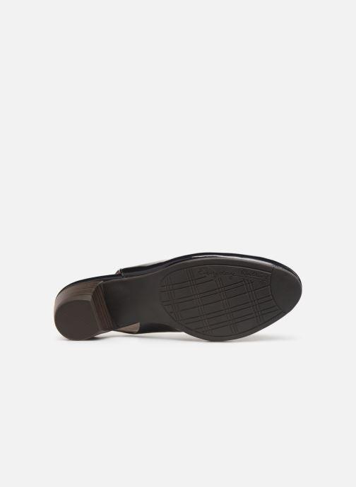 Escarpins Jana shoes Isaure Bleu vue haut