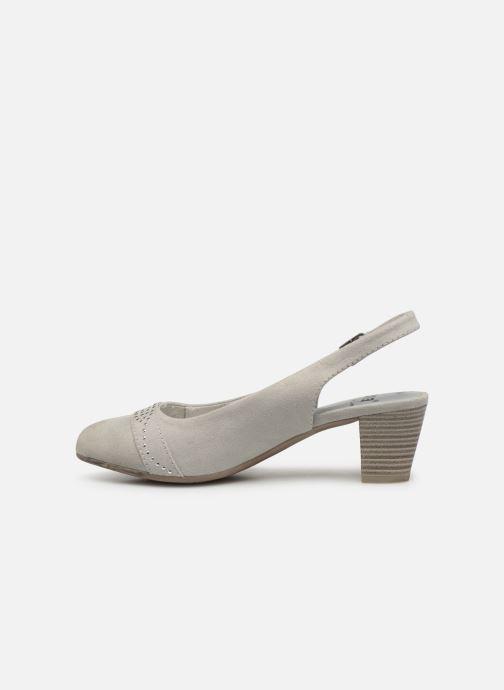 Escarpins Jana shoes Nora Gris vue face