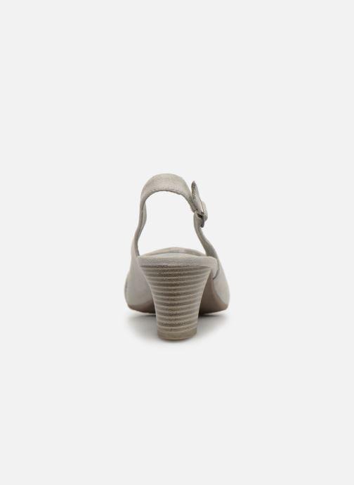Escarpins Jana shoes Nora Gris vue droite