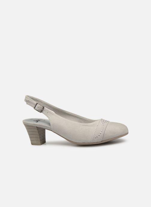 Escarpins Jana shoes Nora Gris vue derrière