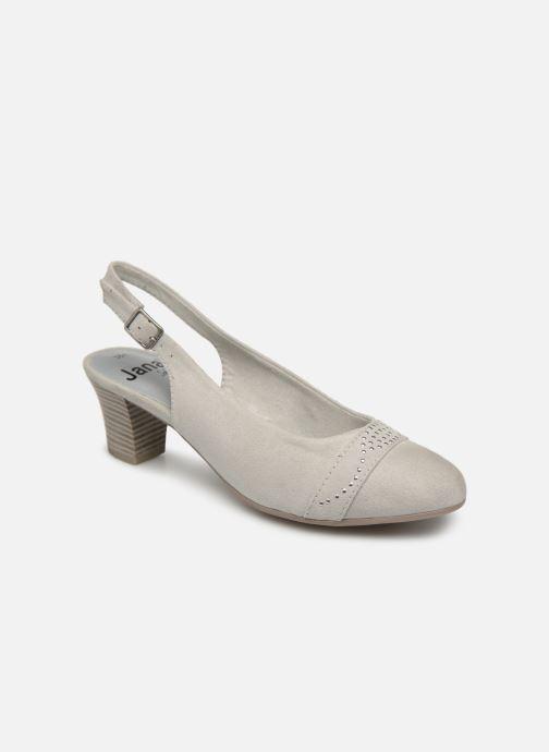Escarpins Jana shoes Nora Gris vue détail/paire