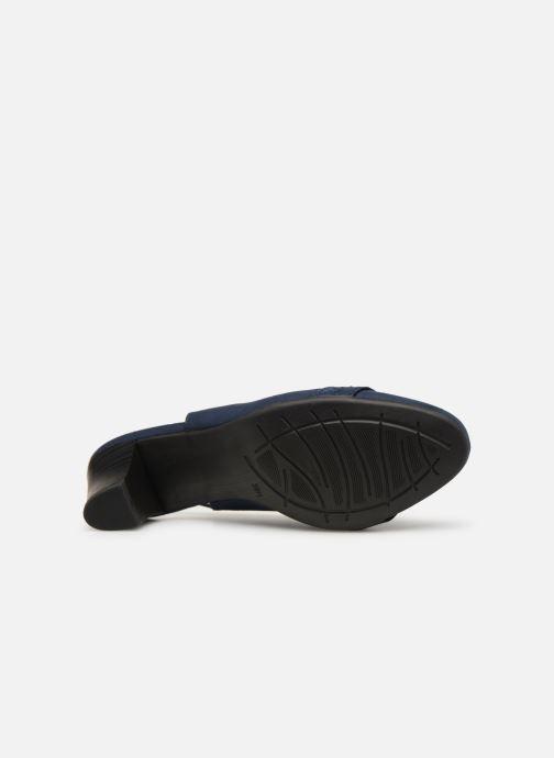Escarpins Jana shoes Nora Bleu vue haut