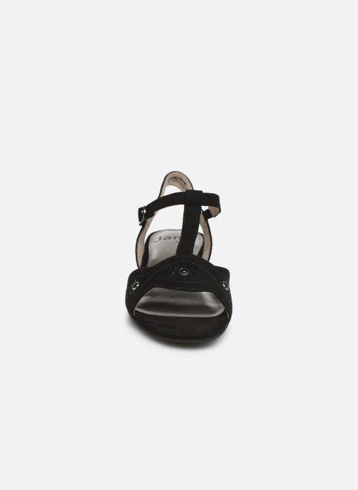 Sandales et nu-pieds Jana shoes Ella Noir vue portées chaussures