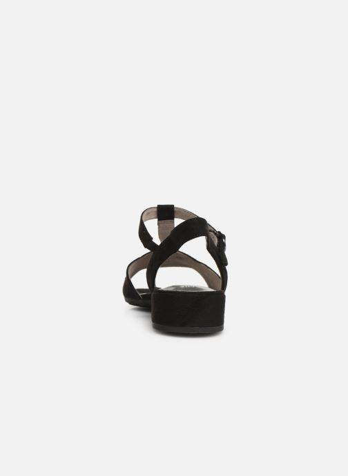 Sandales et nu-pieds Jana shoes Ella Noir vue droite