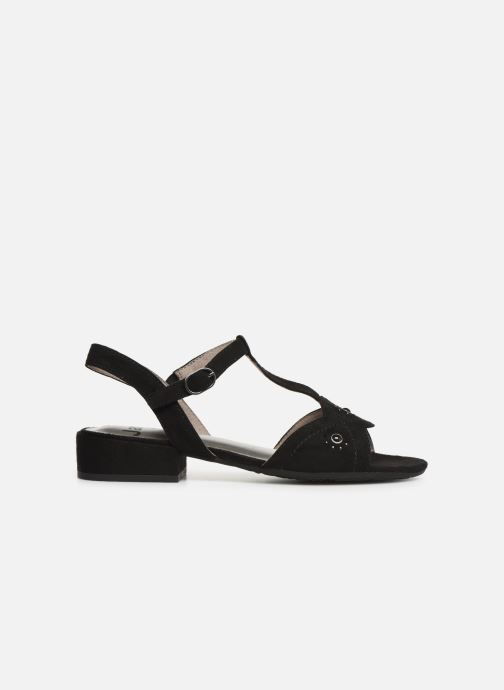 Sandales et nu-pieds Jana shoes Ella Noir vue derrière