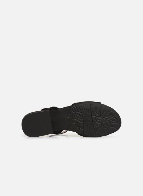 Sandales et nu-pieds Jana shoes Ella Noir vue haut
