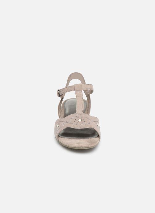 Sandales et nu-pieds Jana shoes Ella Gris vue portées chaussures