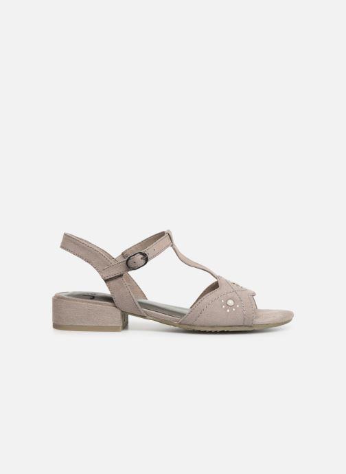 Sandales et nu-pieds Jana shoes Ella Gris vue derrière