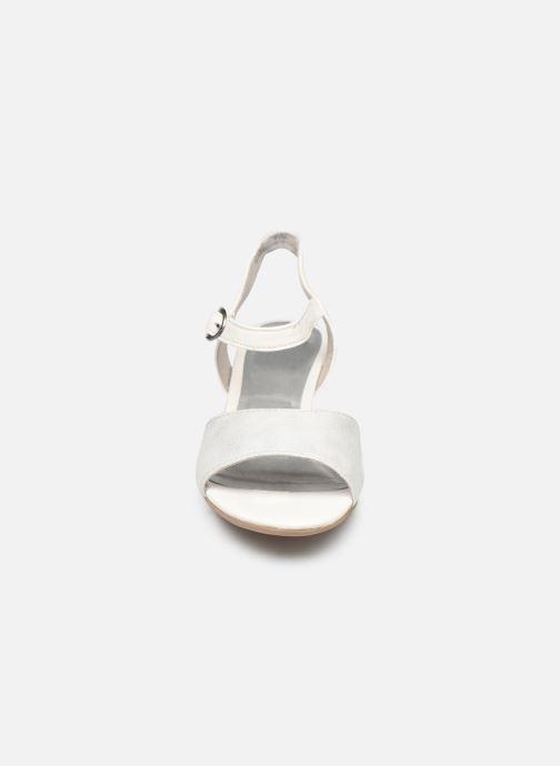 Sandales et nu-pieds Jana shoes Mia Blanc vue portées chaussures