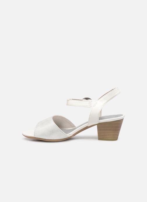 Sandales et nu-pieds Jana shoes Mia Blanc vue face