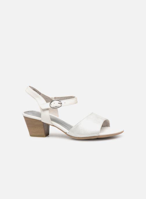 Sandales et nu-pieds Jana shoes Mia Blanc vue derrière
