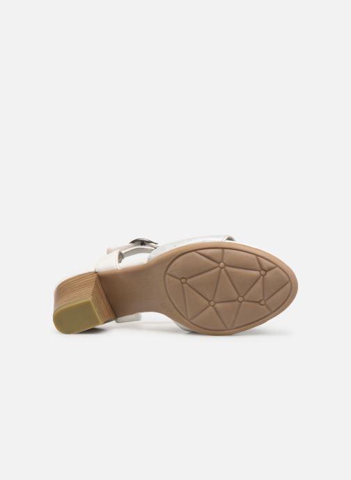 Sandales et nu-pieds Jana shoes Mia Blanc vue haut