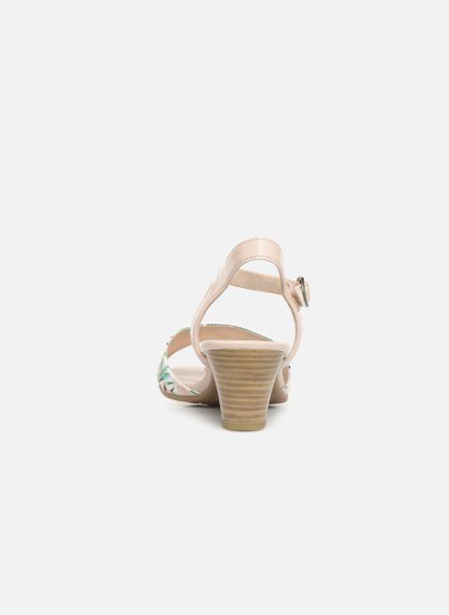 Sandalen Jana shoes Mia mehrfarbig ansicht von rechts