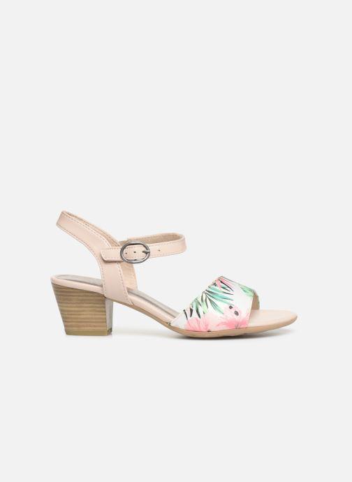 Sandalen Jana shoes Mia mehrfarbig ansicht von hinten