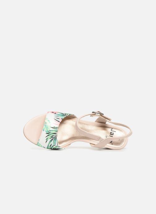 Sandalen Jana shoes Mia mehrfarbig ansicht von links