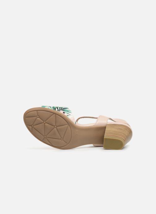 Sandalen Jana shoes Mia mehrfarbig ansicht von oben