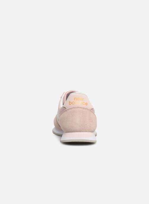 Trainers New Balance U220 W Pink view from the right