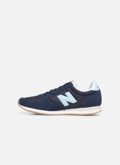Baskets New Balance U220 W Bleu vue face