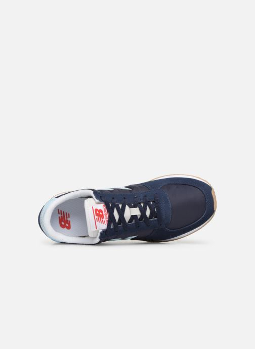 Baskets New Balance U220 W Bleu vue gauche