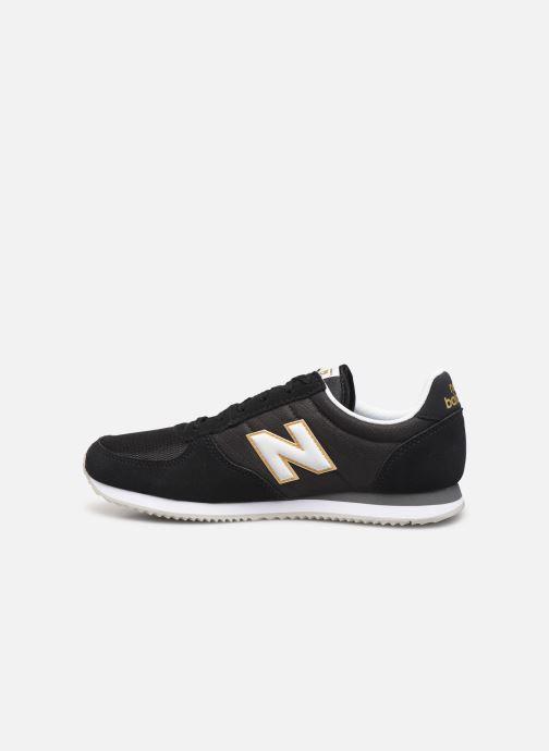 Sneakers New Balance U220 W Zwart voorkant