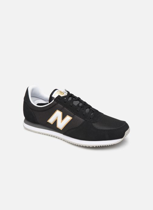 Deportivas New Balance U220 W Negro vista de detalle / par
