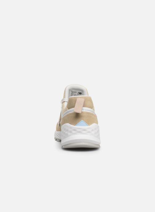 Sneakers New Balance W574 Beige Se fra højre
