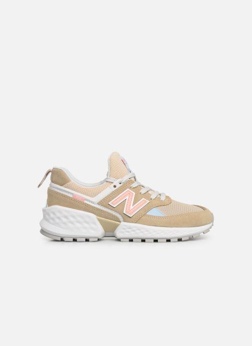 Sneakers New Balance W574 Beige se bagfra