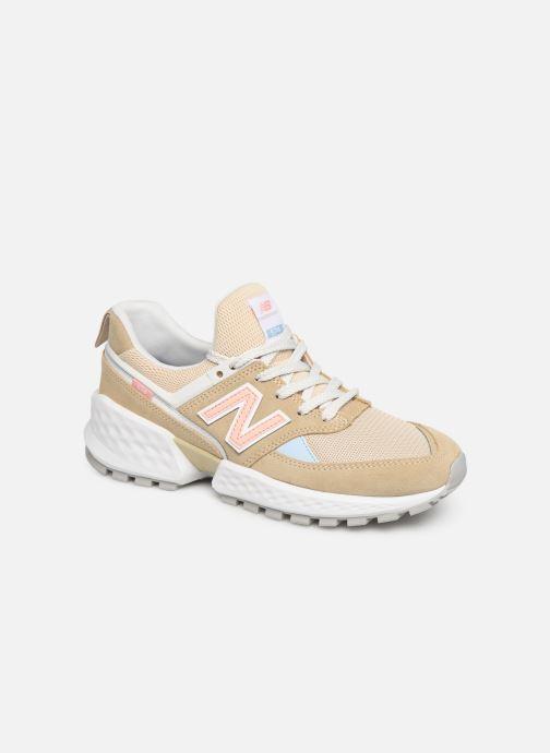 Sneakers New Balance W574 Beige detaljeret billede af skoene