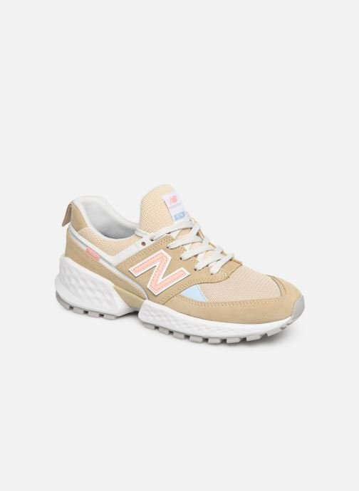 Trainers New Balance W574 Beige detailed view/ Pair view