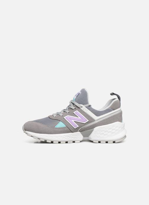Sneakers New Balance W574 Grigio immagine frontale