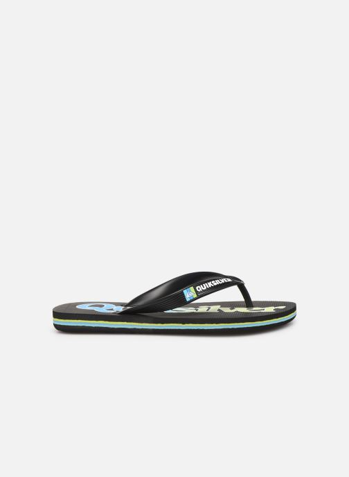 Chanclas Quiksilver Molokai Wordmark Fineline Youth Negro vistra trasera