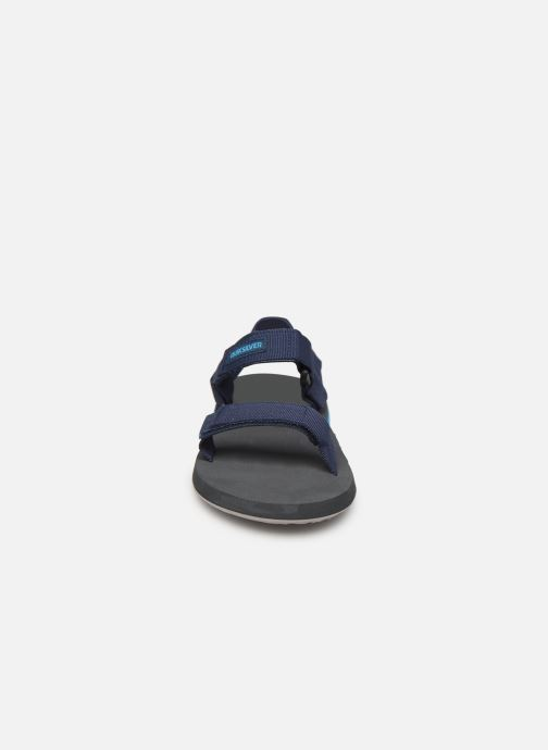 Sandals Quiksilver Monkey Caged  Youth Blue model view