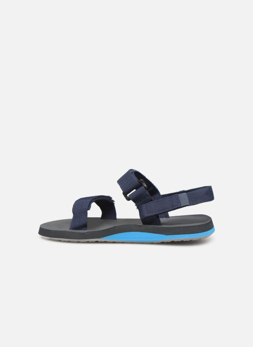 Sandals Quiksilver Monkey Caged  Youth Blue front view