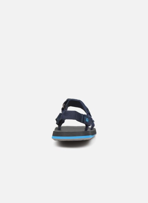 Sandals Quiksilver Monkey Caged  Youth Blue view from the right