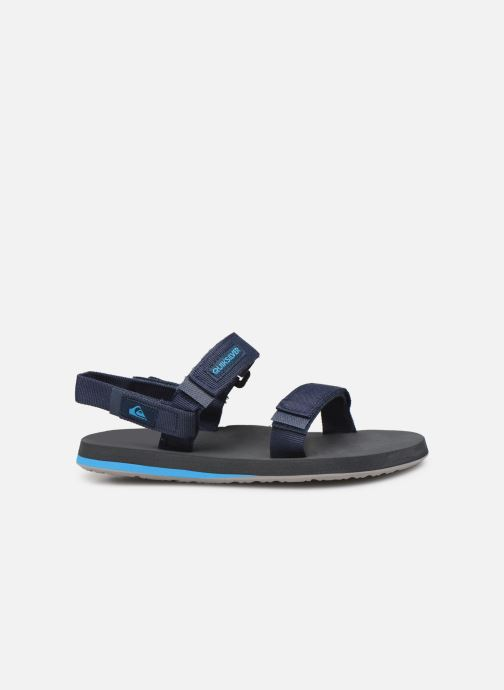 Sandals Quiksilver Monkey Caged  Youth Blue back view