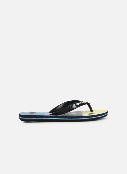 Tongs Quiksilver Molokai Wordblock Volley Youth Multicolore vue derrière