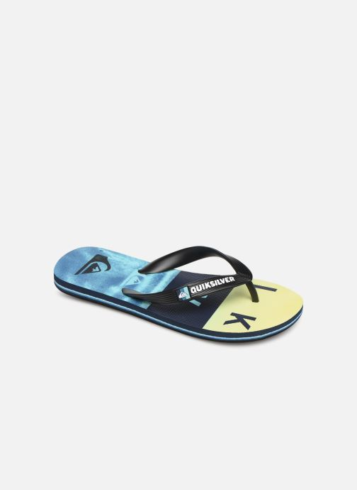 Tongs Quiksilver Molokai Wordblock Volley Youth Multicolore vue détail/paire