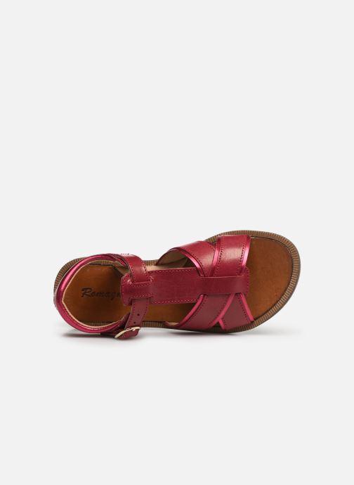 Sandales et nu-pieds Romagnoli Amanda Rose vue gauche