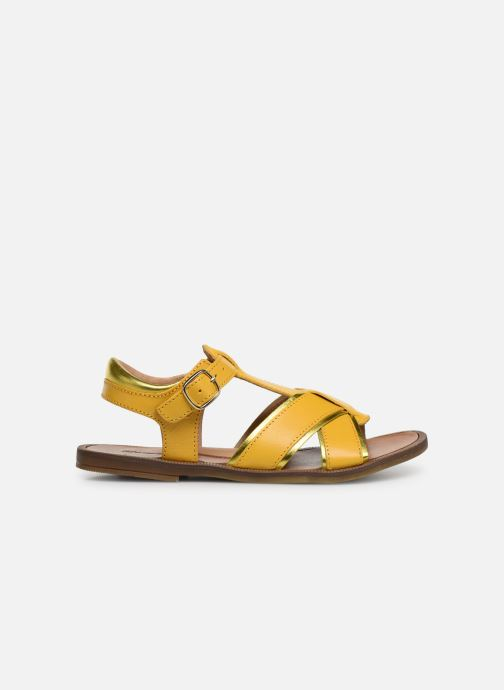 Sandals Romagnoli Amanda Yellow back view