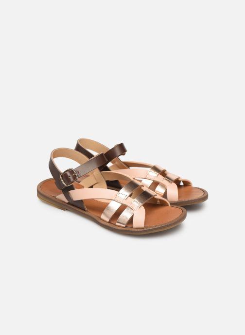 Sandales et nu-pieds Romagnoli Carlotta Multicolore vue 3/4