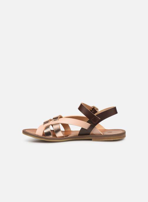 Sandales et nu-pieds Romagnoli Carlotta Multicolore vue face