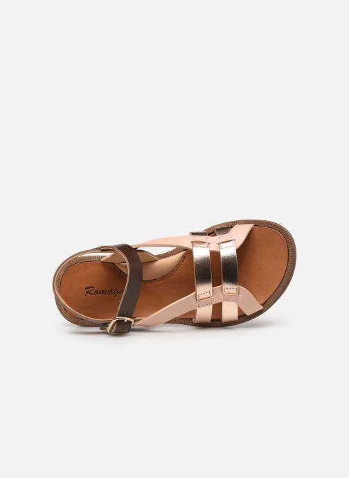 Sandales et nu-pieds Romagnoli Carlotta Multicolore vue gauche